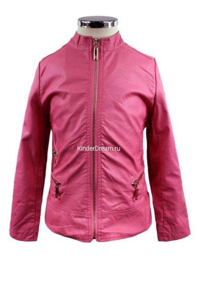 Куртка из искусственной кожи Olimpia story KZ1628 розовый Olimpia story