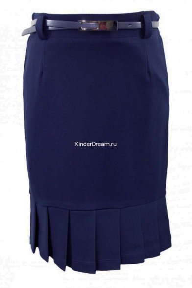 Элегантная юбка-карандаш Vitacci 2163107-04 синий Vitacci