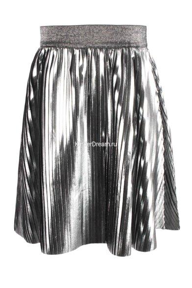 Юбка Deloras 18473-02 серебро Deloras