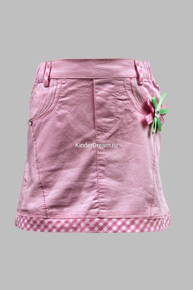 Стильная юбка Deloras 1501 розовый Deloras