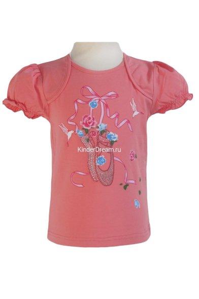 Детская футболка Deloras 0702 коралловый Deloras