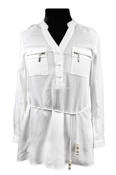 Рубашка-туника Vitacci 2172086-01 белый  Vitacci