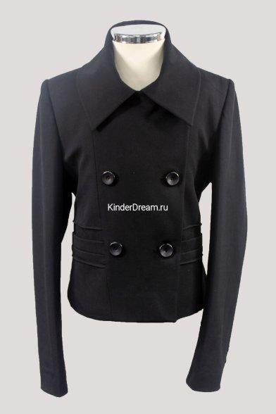 Стильный двубортный пиджак Турция