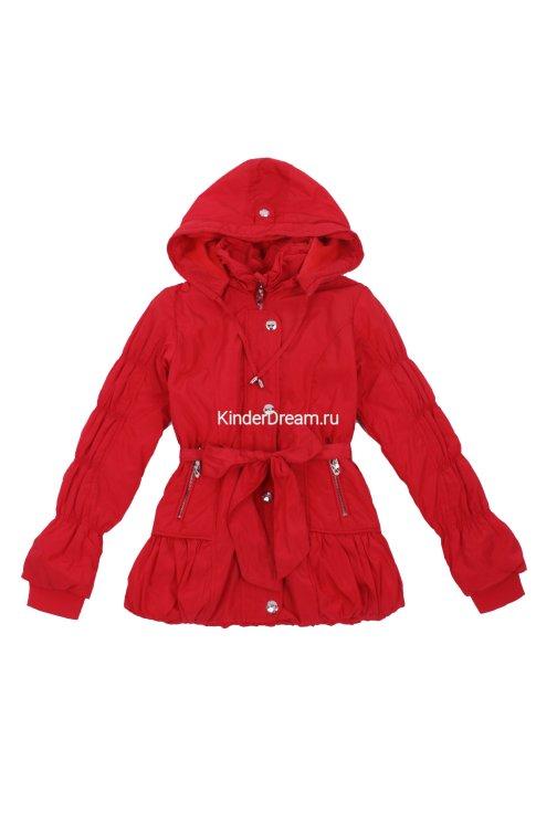 Демисезонная куртка Deloras 2983 красный Deloras