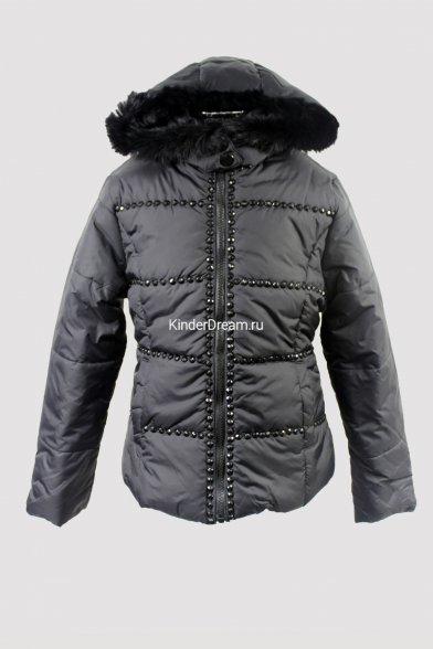 Куртка, декорированная мерцающей фурнитурой Vitacci