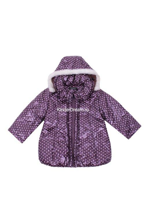 Куртка в горошек Vitacci 21648 фиолетовый Vitacci