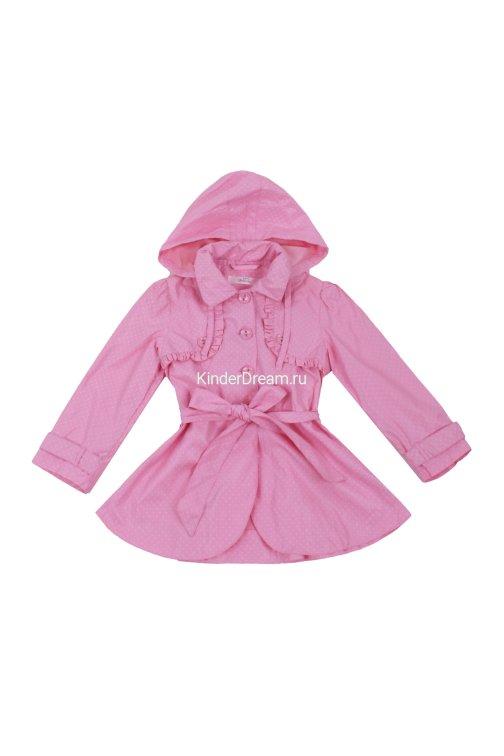 Плащ в горошек Deloras 15027 розовый Deloras