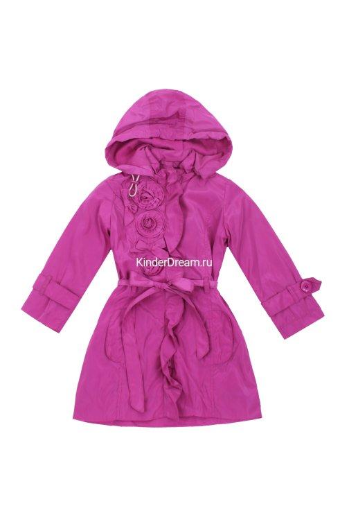 Стильный плащ Deloras 3019 фиолетовый Deloras