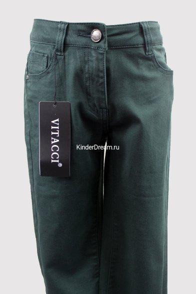 Модные брюки Vitacci 4121М хаки Vitacci