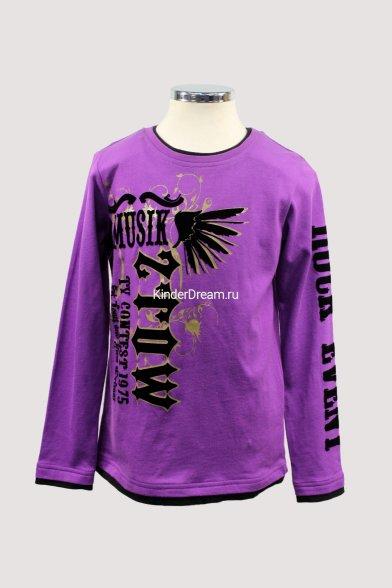Толстовка Deloras 0555 фиолетовый Deloras