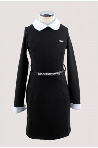 Оригинальное стильное платье Vitacci 8410130 чёрный Vitacci