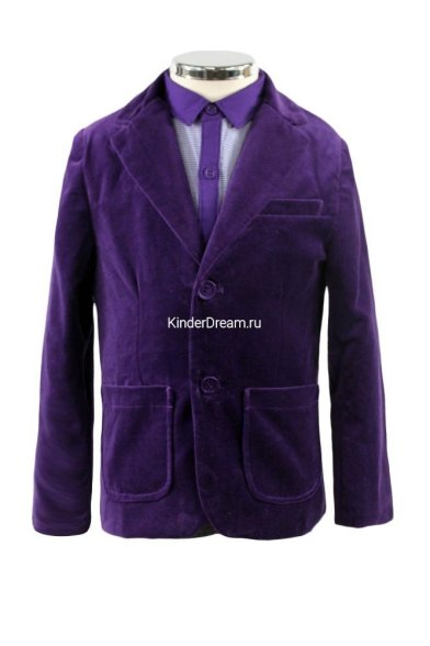 Пиджак для особых случаев Vitacci 2320604 пурпурный Vitacci