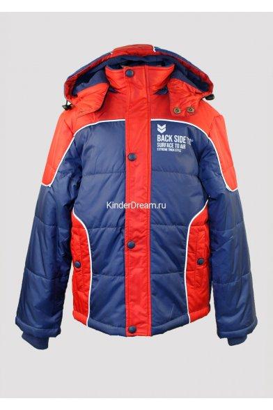 Куртка на синтепоне Deloras 31267 сине-красный Deloras