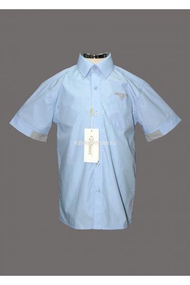 Рубашка с короткими рукавами Vitacci 30347 голубой Vitacci