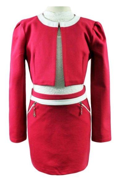 Элегантный костюм (жакет+юбка) Vitacci