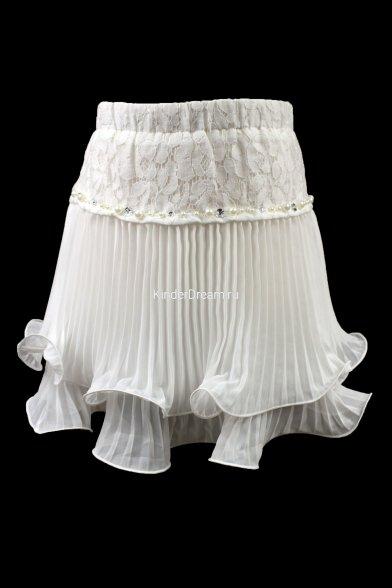 Очаровательная гофрированная юбка Deloras 15582 Deloras