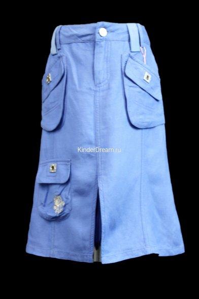 Юбка с накладными карманами Vitacci 20055 белый Vitacci