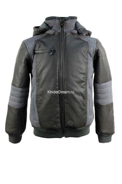 Комбинированная куртка на синтепоне Vitacci 51239 хаки Vitacci