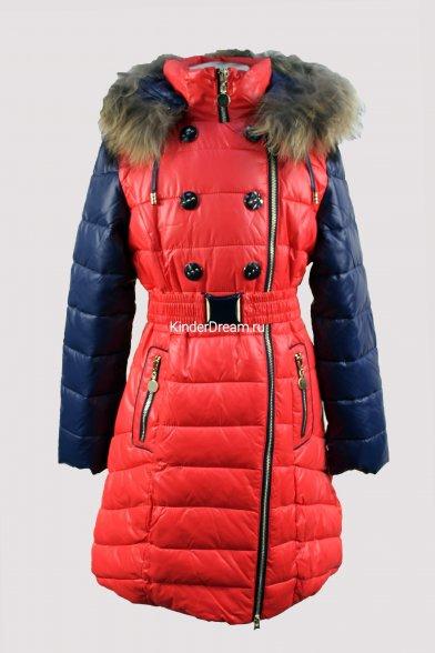 Зимнее комбинированное пальто Vitacci 14253 Vitacci
