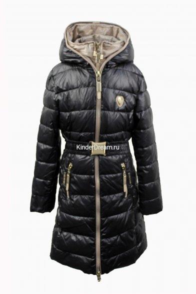 Оригинальное зимнее пальто с сумкой Vitacci 14156 чёрный Vitacci