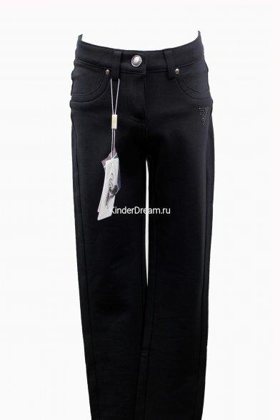 Утепленные брюки из плотного трикотажа Vitacci VJ-63 чёрный Vitacci