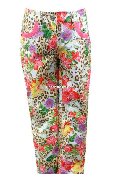 Летние цветастые брюки Deloras 27242 мультиколор Deloras
