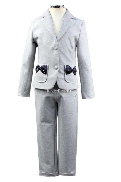 Стильный нарядный костюм Vitacci 642501-642301 серый Vitacci