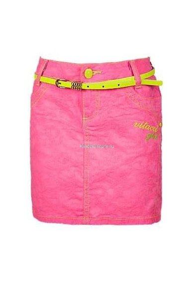 Яркая однотонная юбка Vitacci 2142123 розовый Vitacci