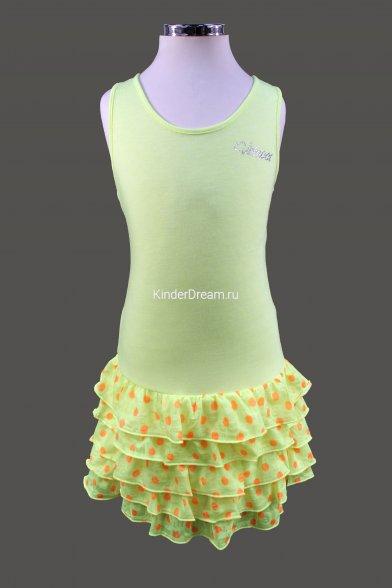 Летнее платье с заниженной линией талии Vitacci 2142124 желтый Vitacci