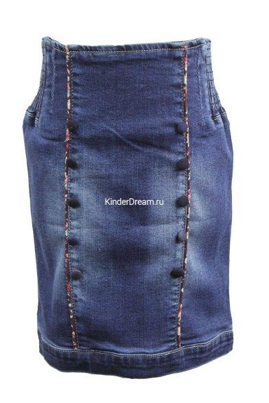 Модная джинсовая юбка Vitacci 10891 Vitacci