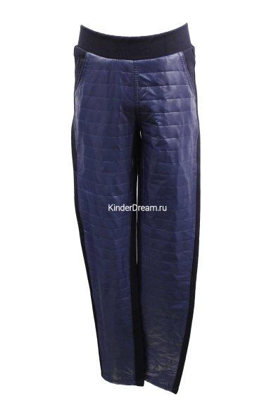Комбинированные брюки Vitacci 10748 синий Vitacci