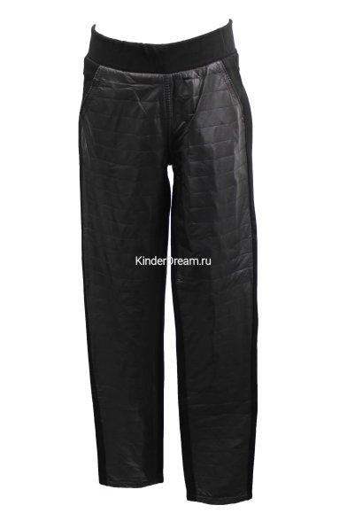Комбинированные брюки Vitacci 10748 чёрный Vitacci