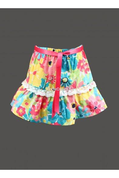 Очаровательная юбка из коллекционной ткани Vitacci 2142288 Vitacci