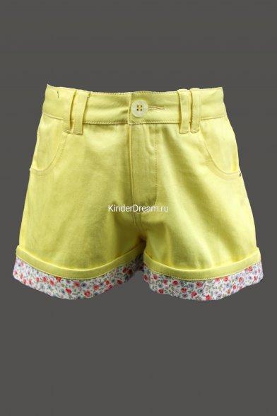 Модные яркие шорты Vitacci 2142091-14 желтый Vitacci
