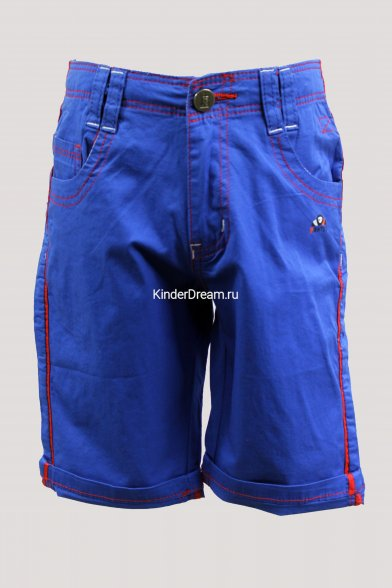 Стильные яркие шорты Deloras 51659 синий Deloras