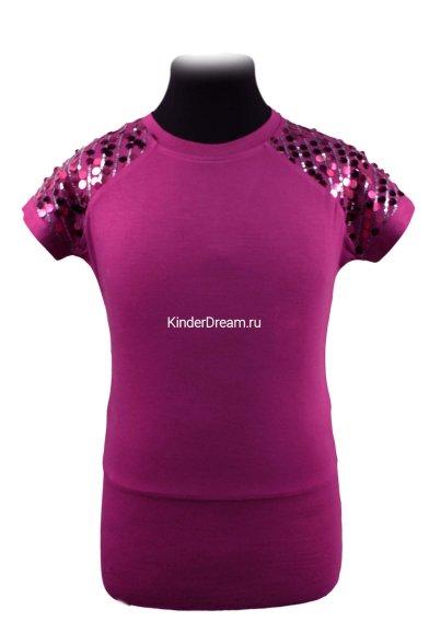 Удлинённая нарядная футболка Deloras 0158 Deloras