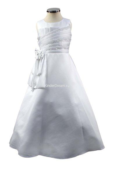 Элегантное платье на праздник Vitacci 20344 белый Vitacci