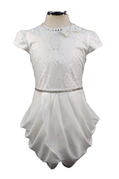 Платье для торжественных случаев Deloras 27702 белый Deloras
