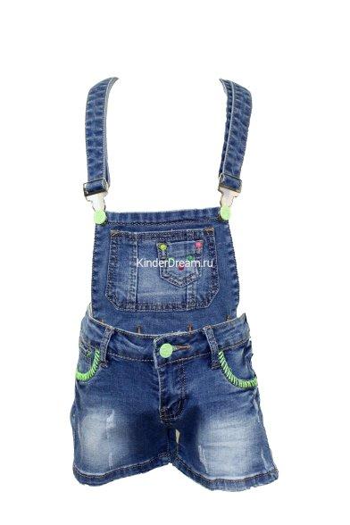 Ультрамодный джинсовый комбинезон Vitacci 2142176 синий Vitacci