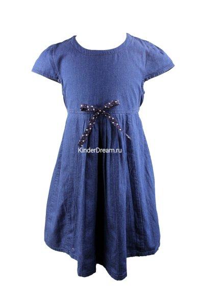 Платье из лёгкой джинсы Vitacci 2152008-30 синий Vitacci