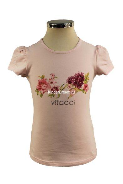 """Футболка """"сирень"""" Vitacci 2152447-11 розовый Vitacci"""
