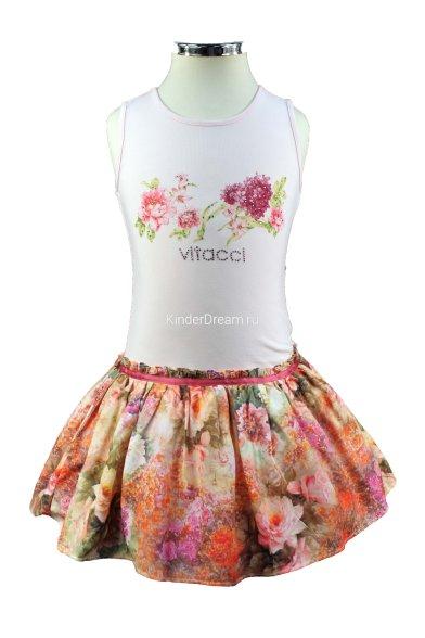 Платье с пышной юбочкой Vitacci 2152464-11 Vitacci