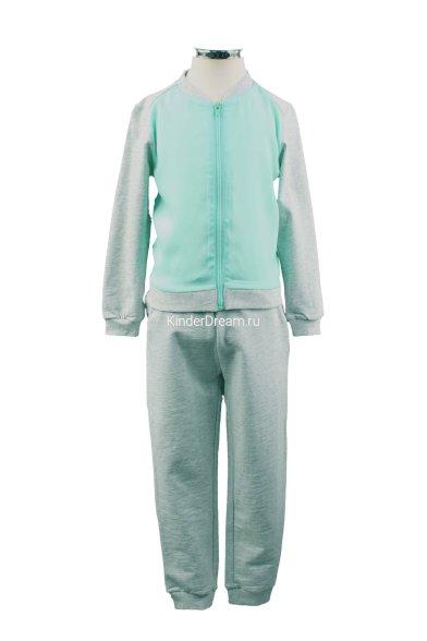 Комбинированный костюм Vitacci 2152181-2152284 серо-зелёный Vitacci