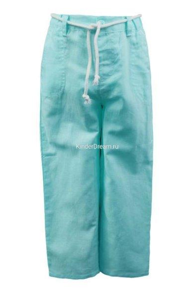 Льняные брюки Vitacci 2152138-32 бирюзовый Vitacci