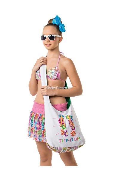 Модная пляжная сумка Nirey & Arina GAB2302 Flower Nirey & Arina