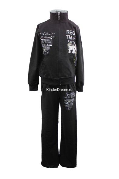 Спортивный костюм Турция 1000-15585 чёрный Турция