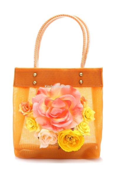 Яркая сумочка с цветами 11-17