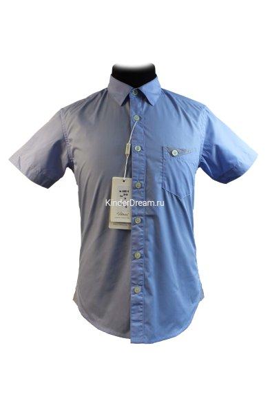 Рубашка с короткими рукавами Vitacci 1153202-10 голубой Vitacci