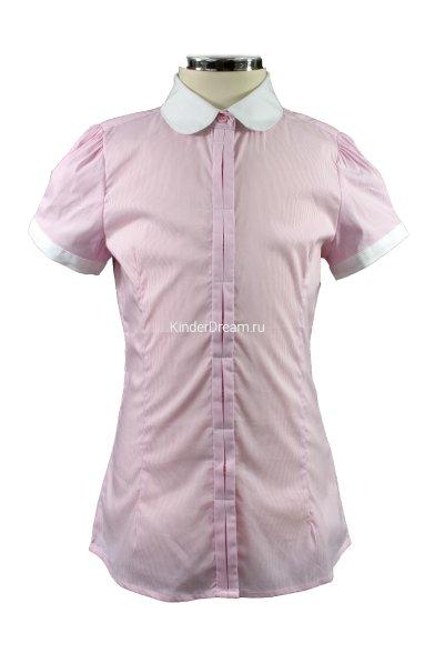 Блузка в мелкую полоску Vitacci 2153038-11 розовый Vitacci