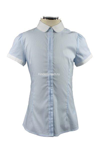 Блузка в мелкую полоску Vitacci 2153038-10 голубой Vitacci